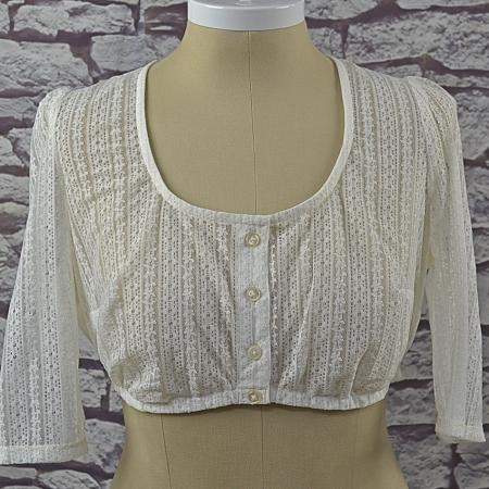 cream imported german blouse