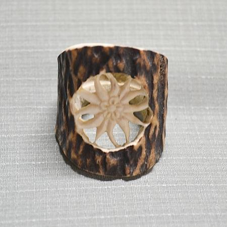 wooden tie ring