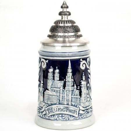 grey blue munich stein