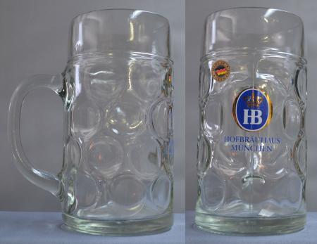 Hofbrauhaus Glass Mug