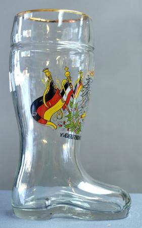 Deutschland Eagle Beer Boot