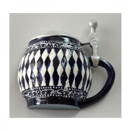 Diamond Pattern Mug Magnet