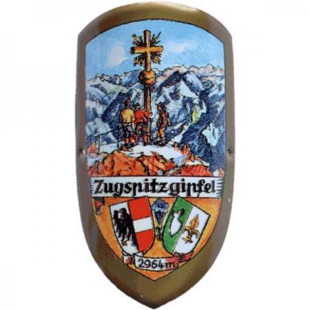 Zugspitzgipfel Cane Emblem
