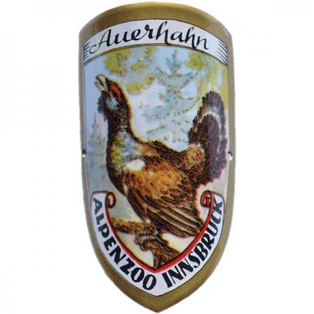 Auerhahn Alpenzoo Innsbruck Cane Emblem