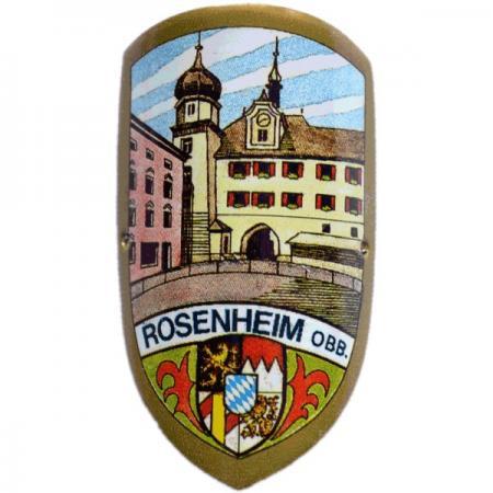 Rosenheim O.B.B. Cane Emblem
