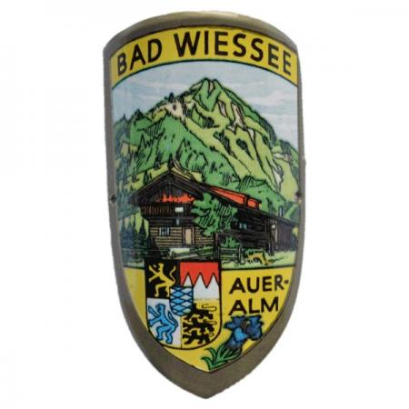 Bad Wiessee Auer-alm Cane Emblem