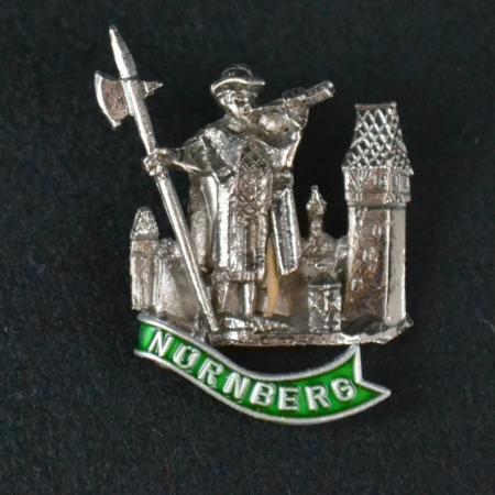 Nurnberg hat pin