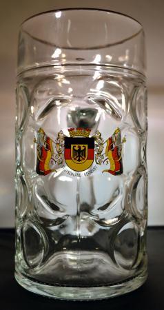 Deutschland Crest Beer Mug