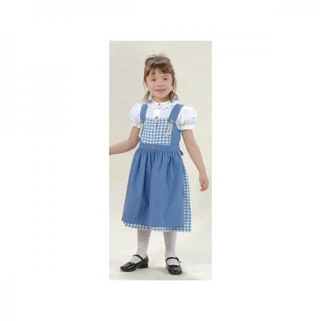 Blue Plaid Dirndl -Sizes 1 and 3