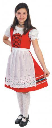 Heidi Red Dirndl