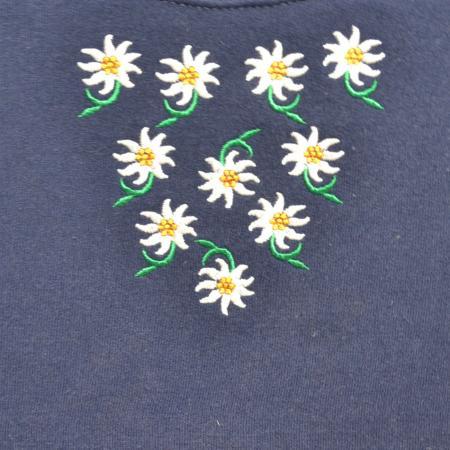 Edelweiss Pattern Sweatshirt