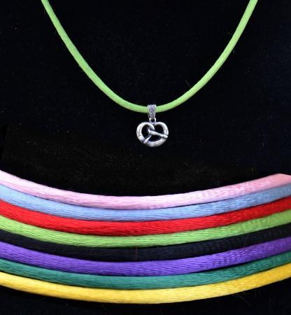 Children's Pretzel Pendant Necklace