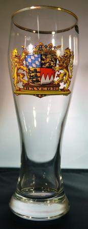 Bayern Crest Beer Glass