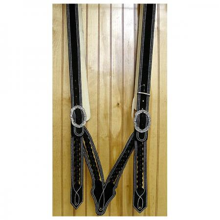 Norweger suspenders made from laponia leather