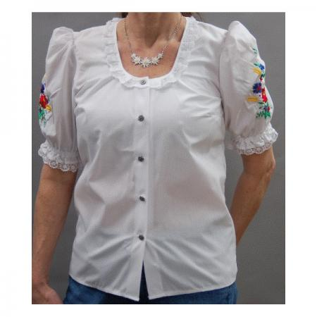 Cornflower blouse-Discontinued