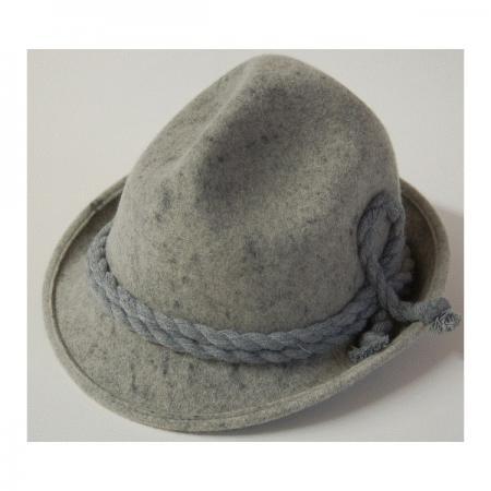 Gray Felt trenker hat