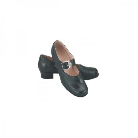 Women's miesbacher Trachten shoes with Leather Soles-0