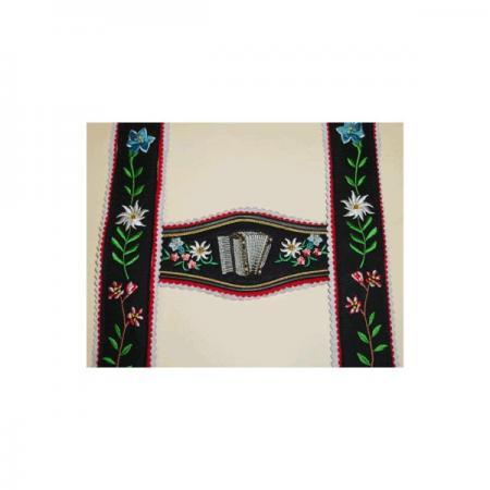 USA Made Piano Accordion Wide Suspenders
