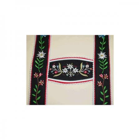 USA Made Triple Edelweiss Wide Suspenders