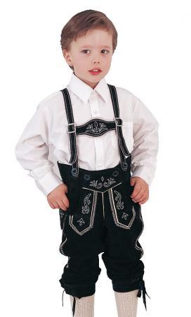 Boy's black bundhosen
