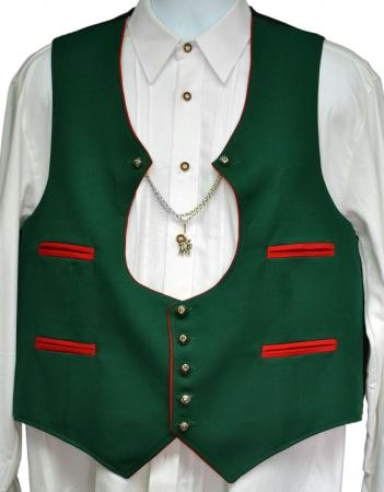 Green German Vest