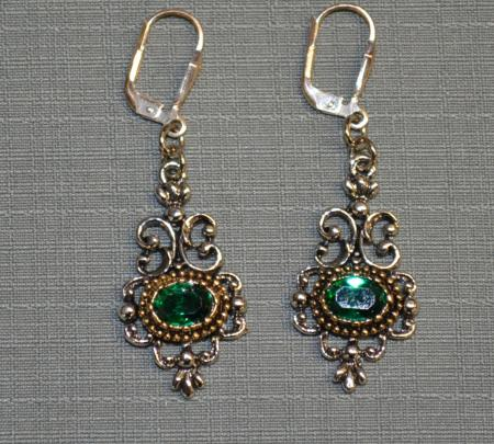German Filigree Earring